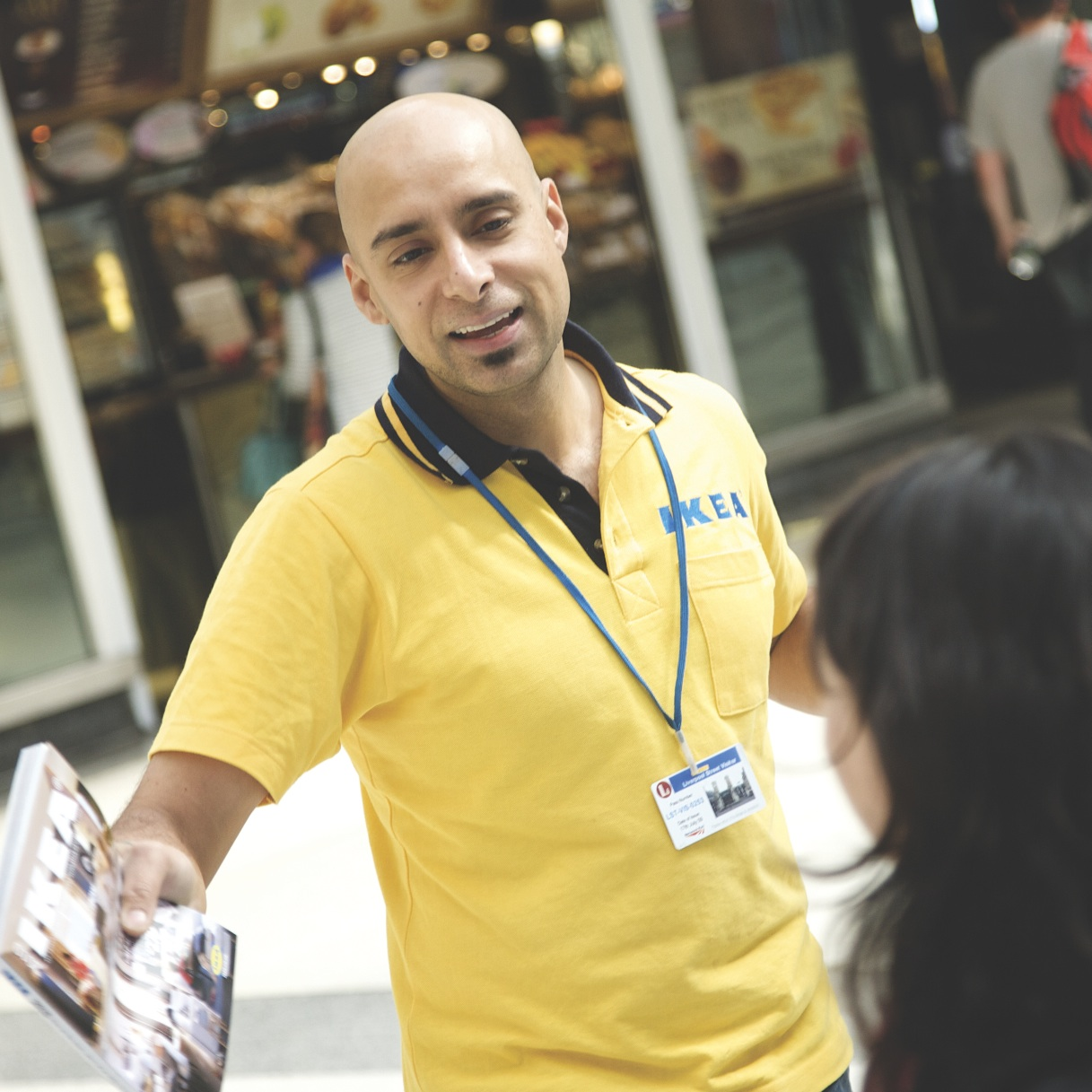 Shopping Centre Promotional Staff