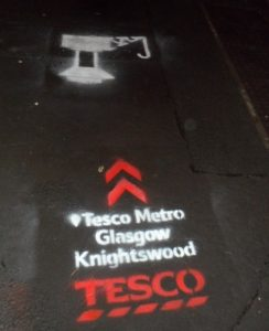 Tescos Guerrilla Marketing