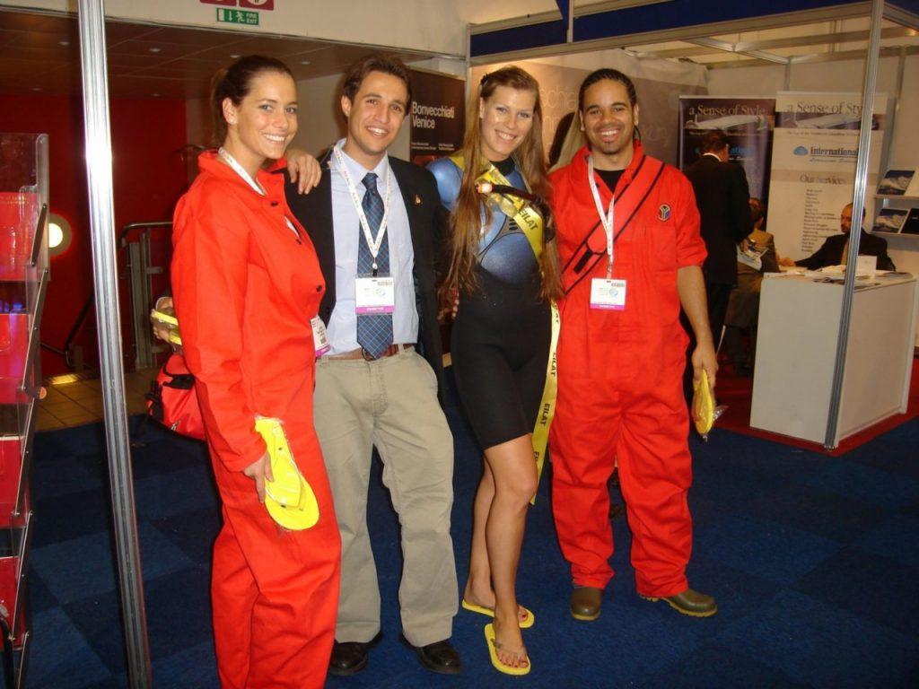 Hire Exhibition Staff