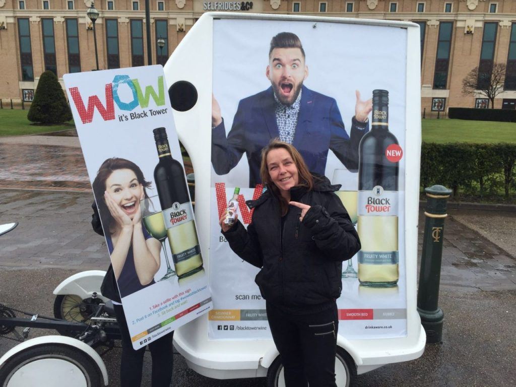 Street Marketing Alcohol Promotion