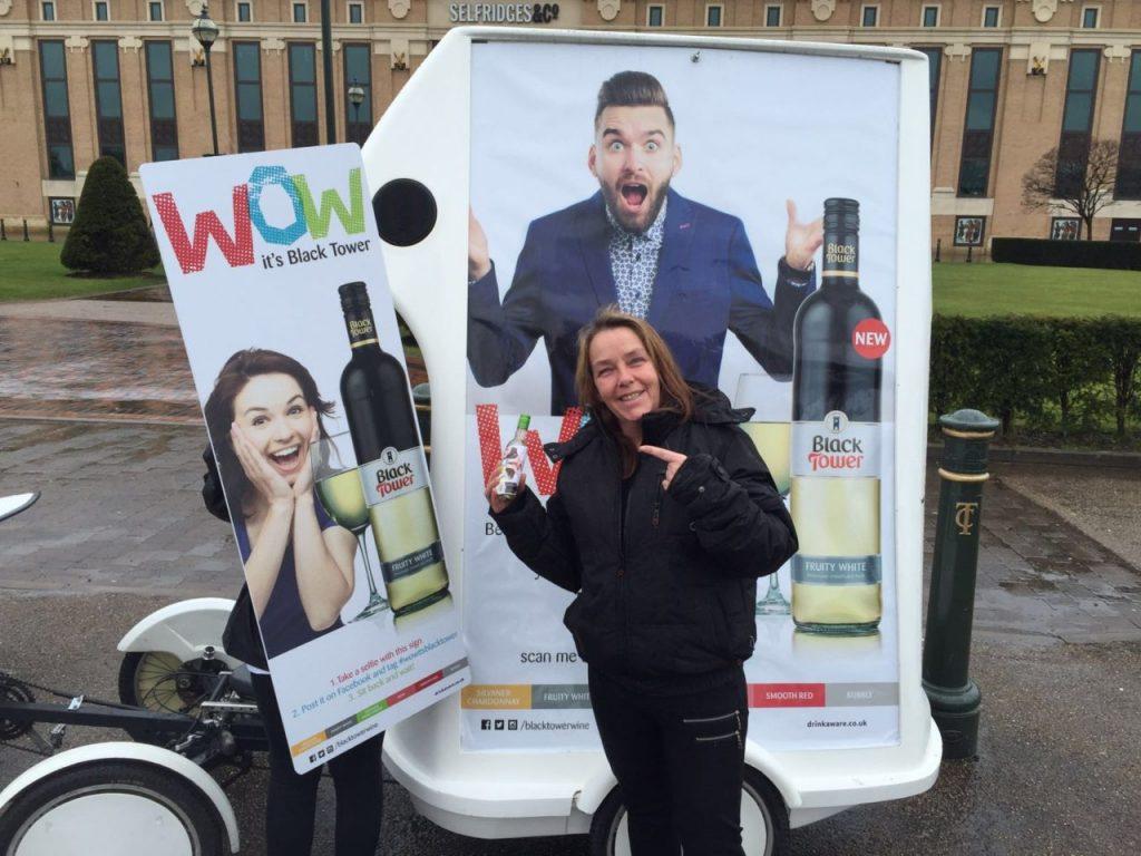 Street Marketing Alcohol Promotion