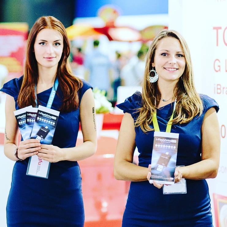 Hire Exhibition Girls