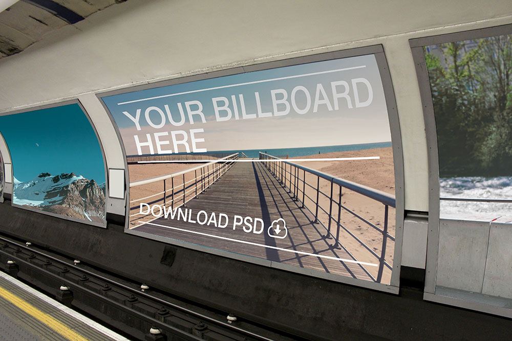 Tube Station Advertising Agency London