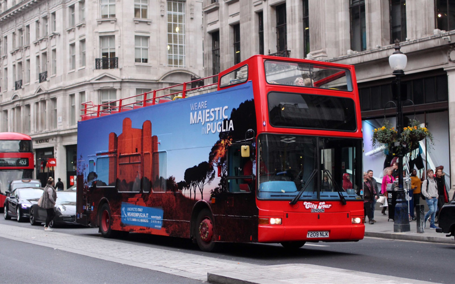 Price to brand Bus London